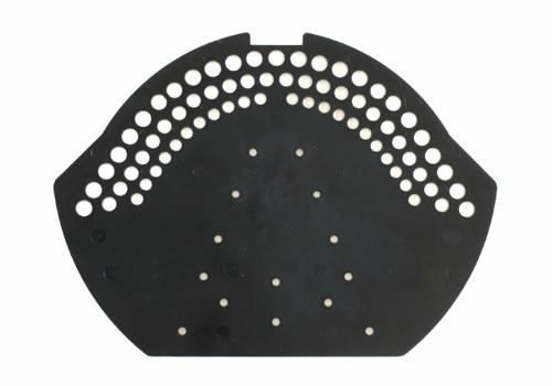 firstendscheibe pvc schwarz paulus dach baustoffe. Black Bedroom Furniture Sets. Home Design Ideas