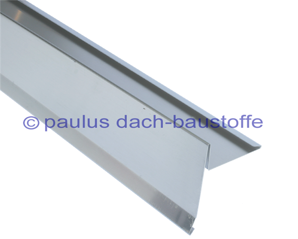 ortblech zink 250 5 abkantungen paulus dach baustoffe. Black Bedroom Furniture Sets. Home Design Ideas