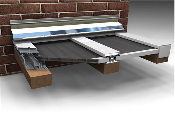 alu wandanschlu profil wei paulus dach baustoffe. Black Bedroom Furniture Sets. Home Design Ideas