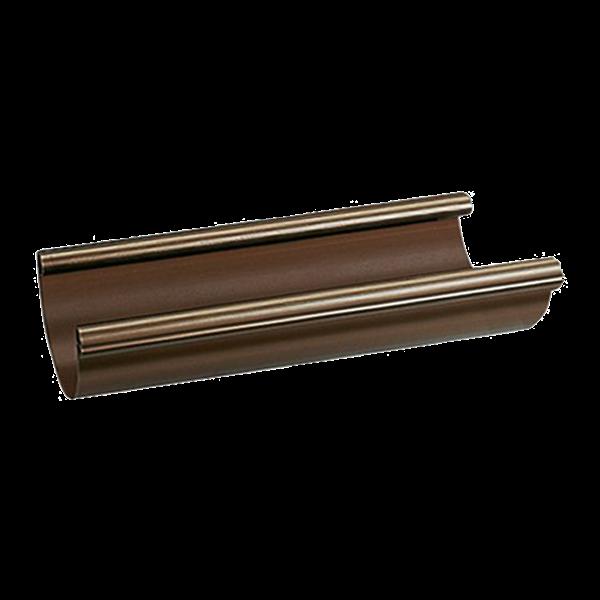 braas stabicor dachrinne rg 125 dunkelbraun paulus dach. Black Bedroom Furniture Sets. Home Design Ideas