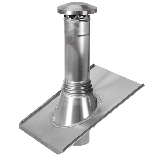 zink entl ftungsrohr 125 blank paulus dach baustoffe. Black Bedroom Furniture Sets. Home Design Ideas