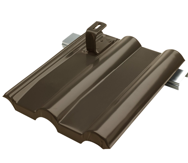 lehmann metallplatte frankfurter dunkelbraun paulus dach. Black Bedroom Furniture Sets. Home Design Ideas