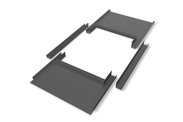 prefa eindeckrahmen kleinformat stucco anthrazit paulus dach baustoffe. Black Bedroom Furniture Sets. Home Design Ideas